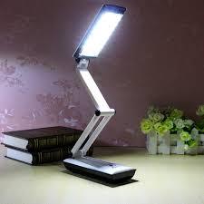 Desk Lam Foldable Led Reading Light Rechargeable Desk Lamp Light Touch