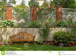 garden trellis royalty free stock photos image 14874128