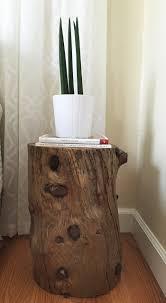 deco bois brut 1001 idées table en rondin de bois u2013 un tronc peut en caché