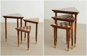 small nest of tables wonderful decoration small nesting tables with mandrinhomes com