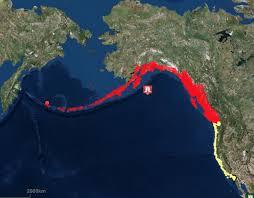 us map with alaska and hawaii alaska earthquake tsunami fears prompt mass evacuations in usa