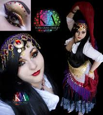 Halloween Makeup Design Gypsy Halloween Makeup With Tutorial By Katiealves On Deviantart