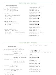 4 worksheet redox reactions 8 9 redox chemical compounds