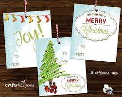 merry vintage favor tags rustic gift tags includes