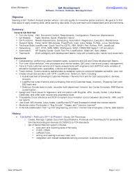 Quality Assurance Analyst Resume Download Free Powerpoint Themes U0026 Ppt Templates