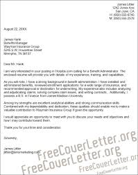 claims executive cover letter
