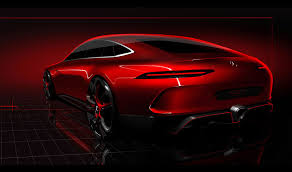 mercedes amg gt concept a cross town rival to the porsche