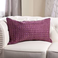Orange Pillows For Sofa by Decor Eggplant Throw Pillows Throw Pillows For Sofa Purple