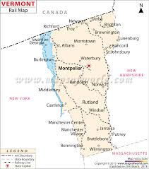 usa map vt buy vermont railway map
