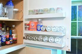 Kitchen Cabinet Door Storage Diy Inside Cabinet Door Shelf Create And Babble