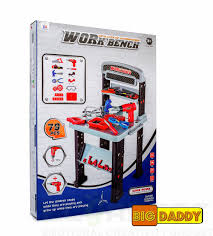 big daddy 2 in 1 work bench extra large and junior power tool