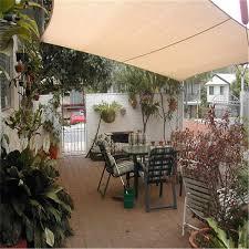 beige sun shade awning 2x1 8m sun block sail shelter net outdoor