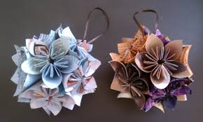 s diy projects diy origami ornaments made from magazine paper