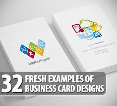 Fun Business Card Ideas 32 Fresh Examples Of Business Card Design Business Cards Design
