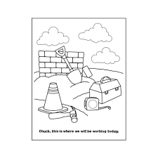 construction personalized coloring book personalized coloring
