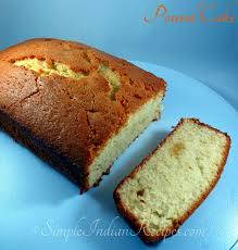 pound cake simple indian recipes