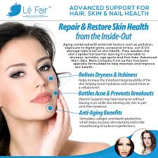 Vitamin Deficiency And Hair Loss Advanced Hair Skin U0026 Nails Complex Le Fair Le Fair Skin