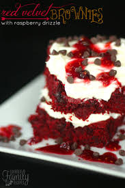 red velvet brownies favorite family recipes