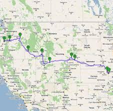 Oregon Trail Maps by Following The Oregon Trail Emigrant Trail