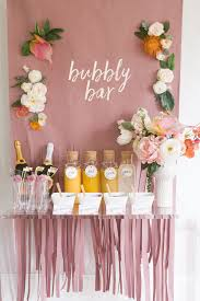 bridal luncheon gifts mimosa bar bridal shower brunch with free printables free