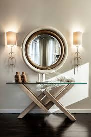 how to decorate with round mirrors your living room round