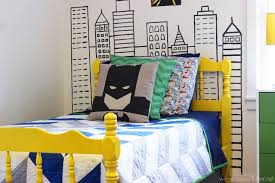 Batman Decoration Batman Bedding And Bedroom Décor Ideas For Your Little Superheroes
