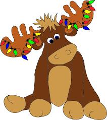 free christmas moose clipart image 11567 christmas moose