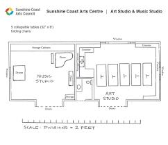 sunshine coast arts council floor plan