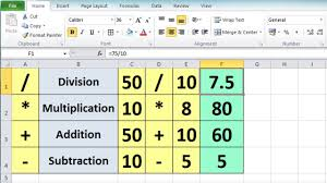 tutorial excel basic excel 2010 tutorial for beginners 3 calculation basics formulas