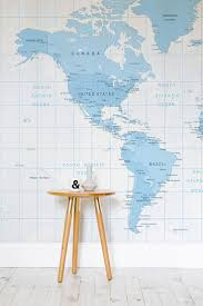 World Map Wallpaper by 7 Best Wall Murals Maps Images On Pinterest Map Wallpaper
