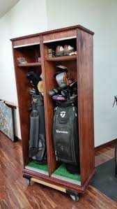 Garage Golf Bag Organizer - 42 best man cave images on pinterest woodwork wood projects and