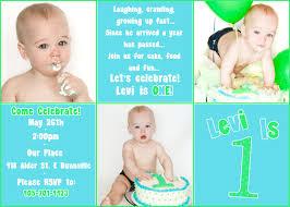Birthday Invitation Card Template First Birthday Invitations Boy Template Best Template Collection