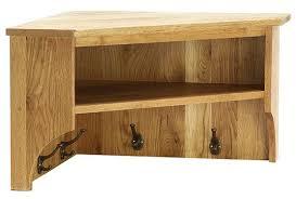 buy vancouver petite oak wall shelf large corner with coat rack