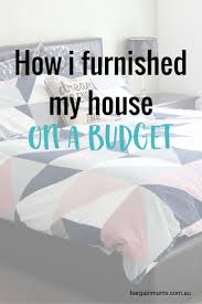 how i furnished my house on a budget house frugal and frugal living