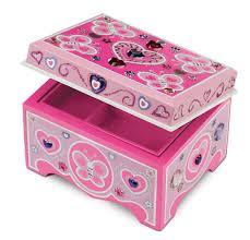 amazon com melissa u0026 doug decorate your own wooden jewelry box