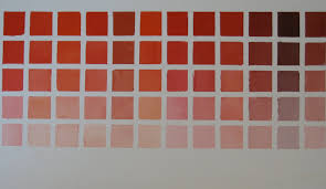 10 best images of crimson color chart red color chart red