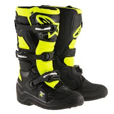 blue dirt bike boots youth boots motocross alpinestars