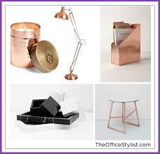 Marble Desk Accessories Trends I M Loving Copper And Marble Sayeh Pezeshki La Brand