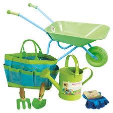 childrens garden tools for kids gardening sets
