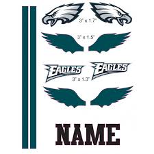 philadelphia eagles cranial band decoration from high quality vinyl