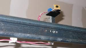 garage door sensor wire netduino plus