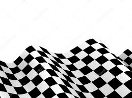 Checkered Racing Flags Racing Flags Background Checkered Flag Formula One U2014 Stock Photo