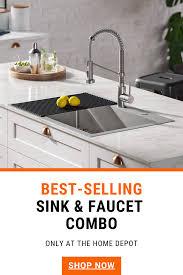 home depot kitchen sink vanity 56 homedepot kraus sinks and faucets ideas in 2021 kraus