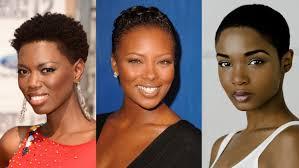 short natural haircuts for black women tapered short natural black