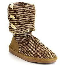 s knit boots size 12 bearpaw knit658w womens knit fold knee high boots