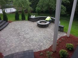 fire pit on concrete patio ideas savwi com