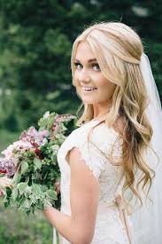 wedding hair veil 25 half updo wedding hairstyles 4 bridal hair