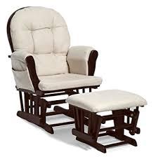 Baby Nursery Rocking Chairs Baby Nursery Glider Rocker Rocking Chair Espresso Finish With
