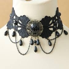 vintage chokers necklace images Lace necklace and pendants false collar vintage choker necklace jpg