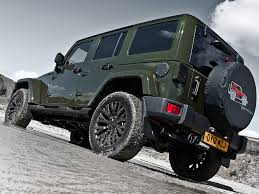 jeep unlimited green jeep wrangler unlimited touched by kahn autoevolution